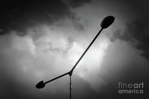 Photograph - Lamppost #7574 by Andrey Godyaykin