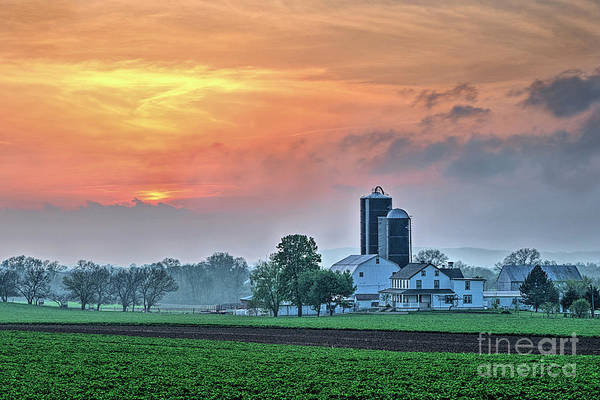 Photograph - Lancaster County, Pennsylvania by Craig Leaper