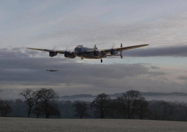 Bomber Photograph - Lancaster - He Aint Heavy He's My Brother' by Pat Speirs