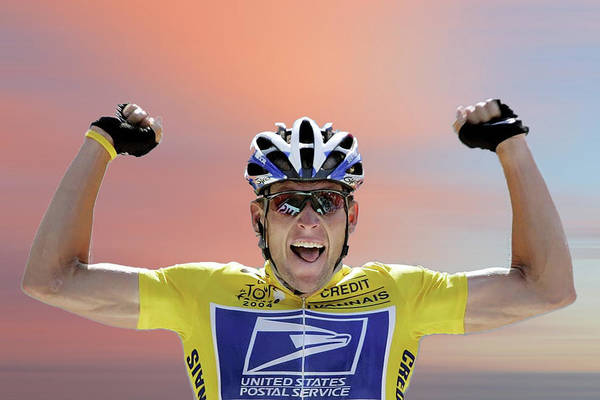 Wall Art - Photograph - Lance Armstrong 4 by Smart Aviation
