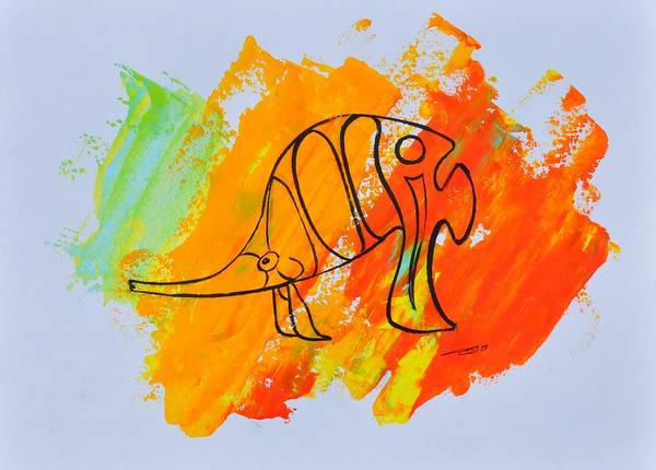 Painting - Lance Id 02/30 by Eduard Meinema