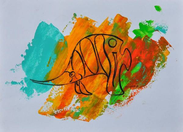 Painting - Lance Id 04/30 by Eduard Meinema