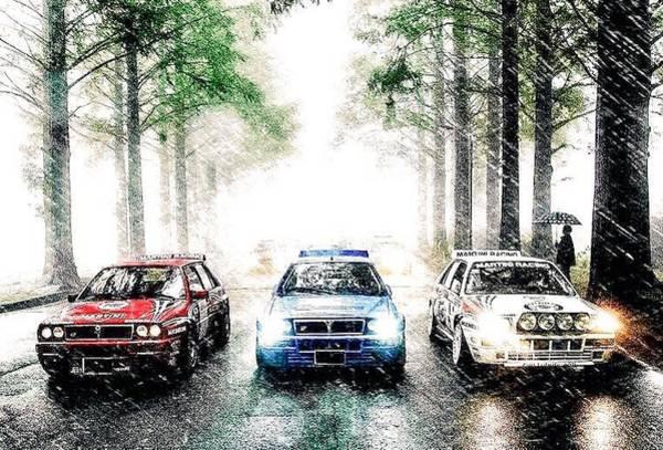 Lancia Delta Intergrale Art Print