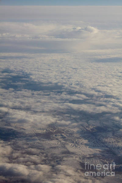 Photograph - Land And Sky Scape by Donna L Munro