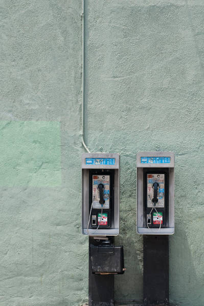 Pay Photograph - Land Line by Dan Holm
