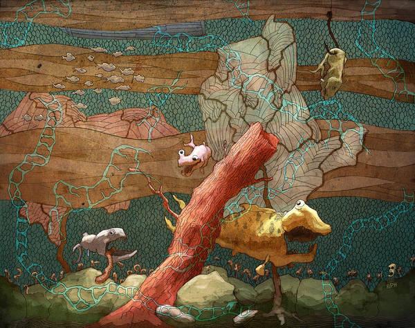 Wall Art - Digital Art - Land Lubber by Ethan Harris