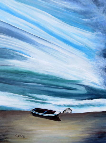 Painting - Land Meets Sky by Marilyn  McNish