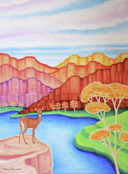 Painting - Land Of Enchantment by Tracy Dennison
