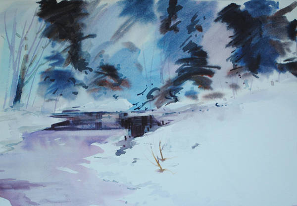 Painting - Land Of Ice And Snow by P Anthony Visco
