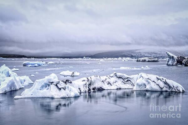 Northern Photograph - Land Of Ice by Evelina Kremsdorf