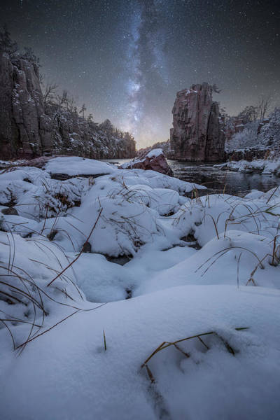 First Star Photograph - Land Of Narnia by Aaron J Groen