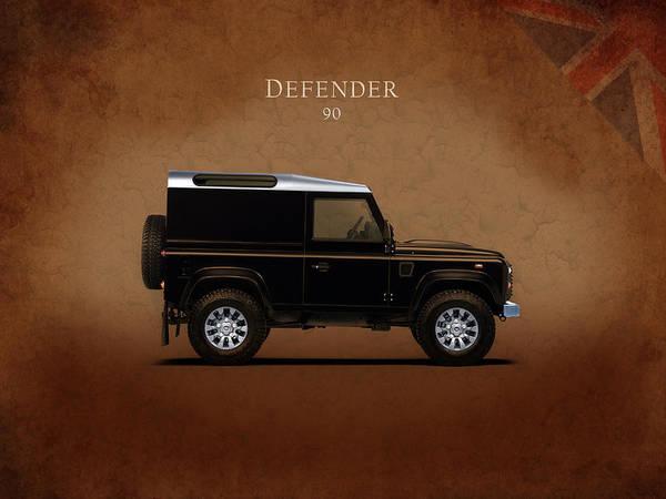 Wall Art - Photograph - Land Rover Defender 90 by Mark Rogan