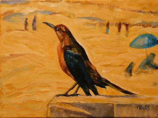 Painting - Landed by Dennis Tawes