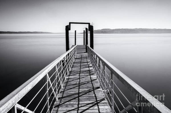 Photograph - Landing Dock by Sal Ahmed