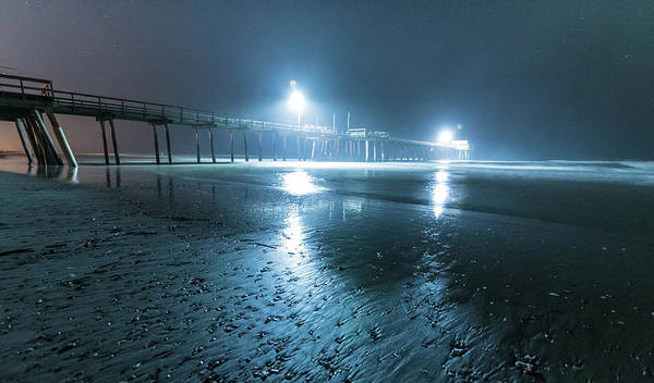 Photograph - Landing Lights by Kristopher Schoenleber
