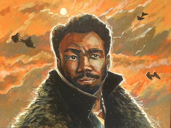 Painting - Lando by Joel Tesch