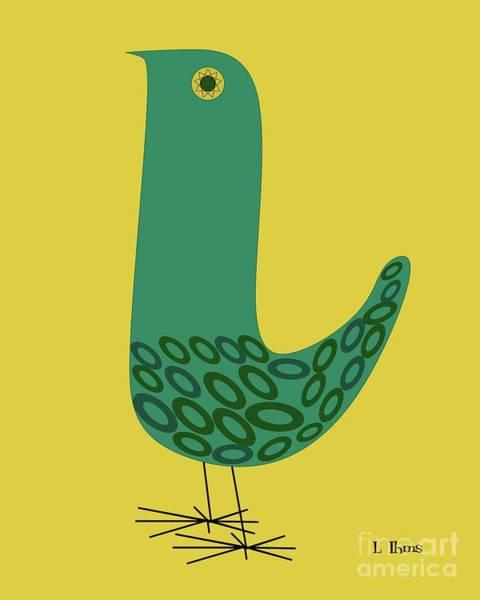 Digital Art - Bird by Donna Mibus