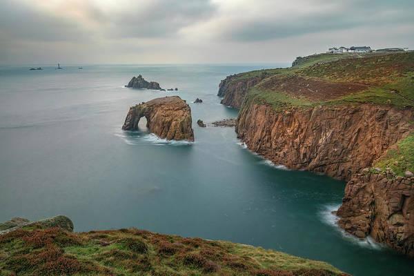 Penwith Photograph - Land's End - England by Joana Kruse
