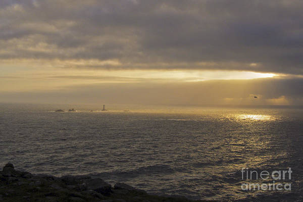 Penwith Photograph - Land's End Gold by Terri Waters