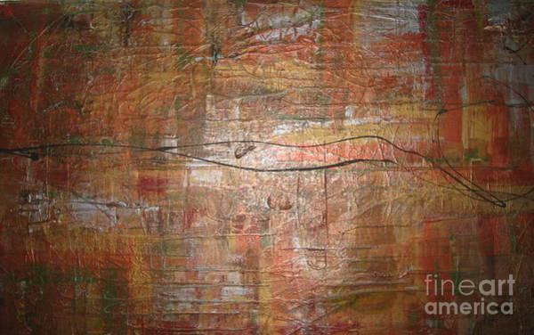 Painting - Landscape - Gold by Jacqueline Athmann