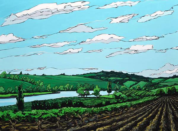 Landscape 108 Art Print