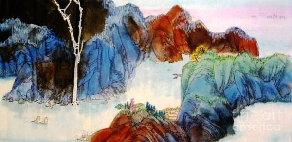 Painting - Landscape #2 by Betty M M Wong