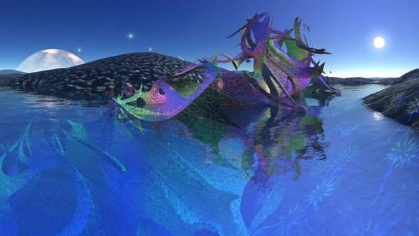 Digital Art - Landscape 2 by Robert Thalmeier