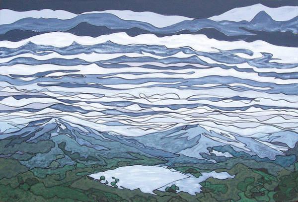 Painting - Landscape 381 by John Gibbs