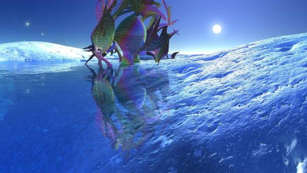 Digital Art - Landscape 4 by Robert Thalmeier