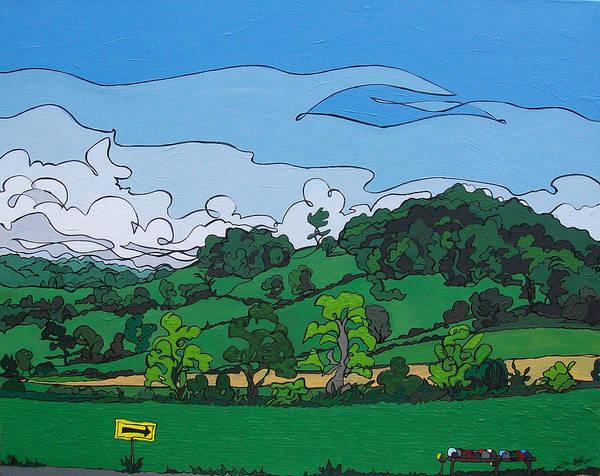 Painting - Landscape 63 by John Gibbs