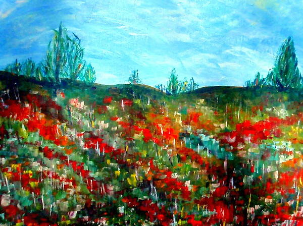 Painting - Landscape 91 by Beth Akerman