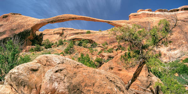 Photograph - Landscape Arch by Ryan Heffron