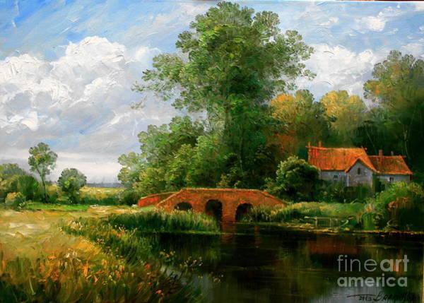 Wall Art - Painting - Landscape by Arthur Braginsky
