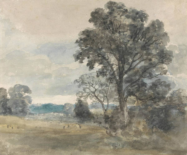 Painting - Landscape At East Bergholt by John Constable