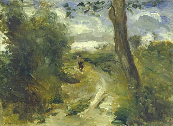 Wall Art - Painting - Landscape Between Storms by Auguste Renoir