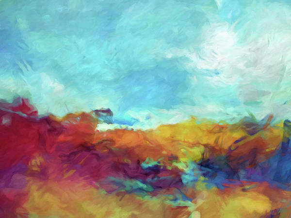 Painting - Landscape Expression by Lutz Baar