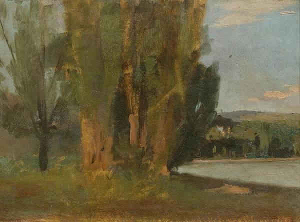 Painting - Landscape by Francois  Bocion