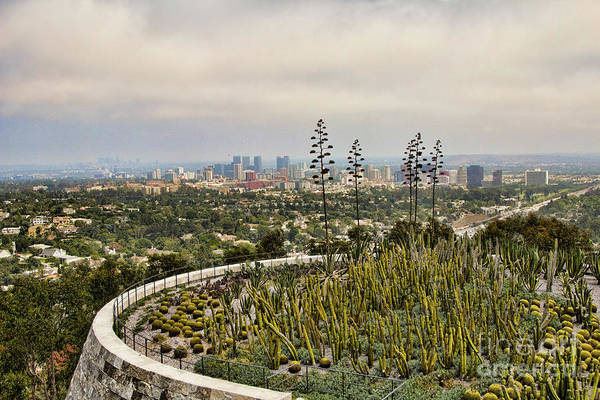 Wall Art - Photograph - Landscape Getty Museum  by Chuck Kuhn