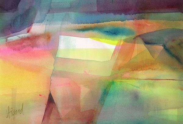 Painting - Landscape Illusion by Carolyn Utigard Thomas
