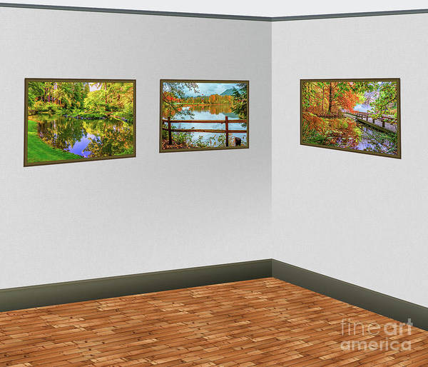 Wall Art - Photograph - Landscape Images In The Art Gallery by Viktor Birkus