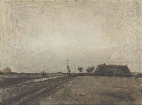 Painting - Landscape In Drenthe Drenthe, September - October 1883 Vincent Van Gogh 1853 1890 by Artistic Panda
