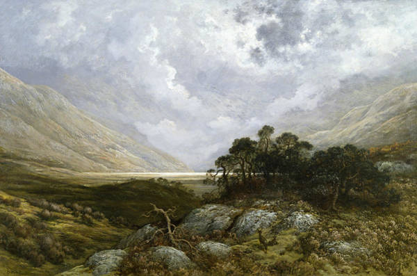 Painting - Landscape In Scotland by Gustave Dore