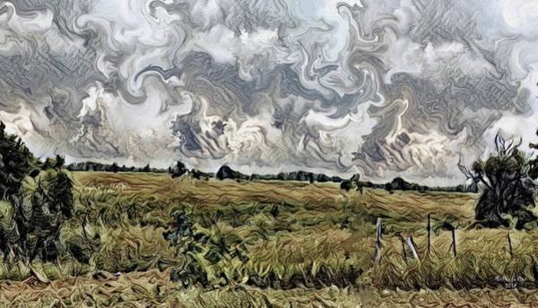 Digital Art - Landscape Motion Hadley Michigan by Artful Oasis