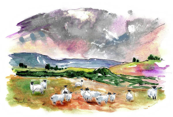 Painting - Landscape Of North Yorkshire 02 by Miki De Goodaboom