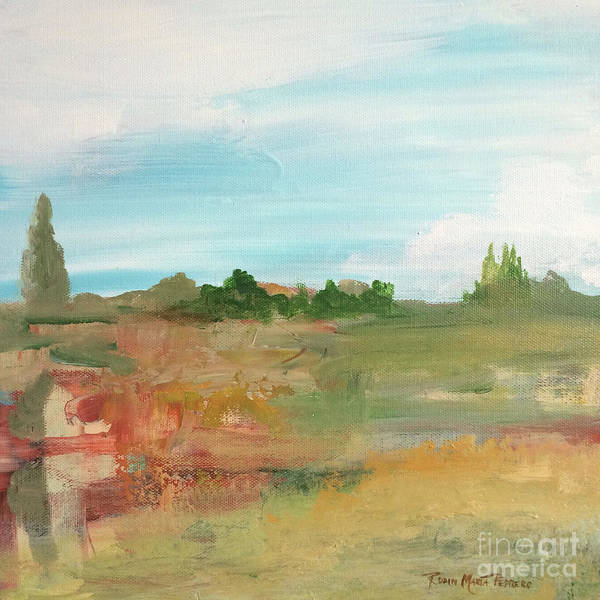 Painting - Landscape On Drive by Robin Maria Pedrero