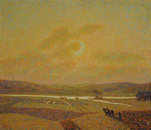 Painting - Landscape Painting by Ester Almqvist