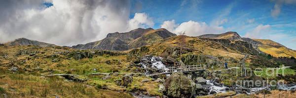 Photograph - Landscape Snowdonia by Adrian Evans