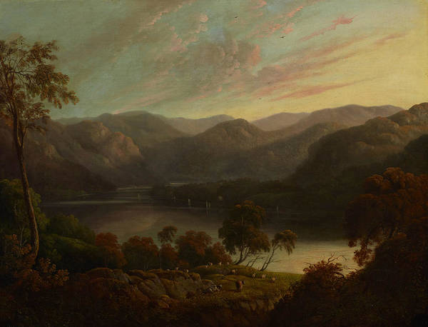Painting - Landscape View In Cumberland by John Glover