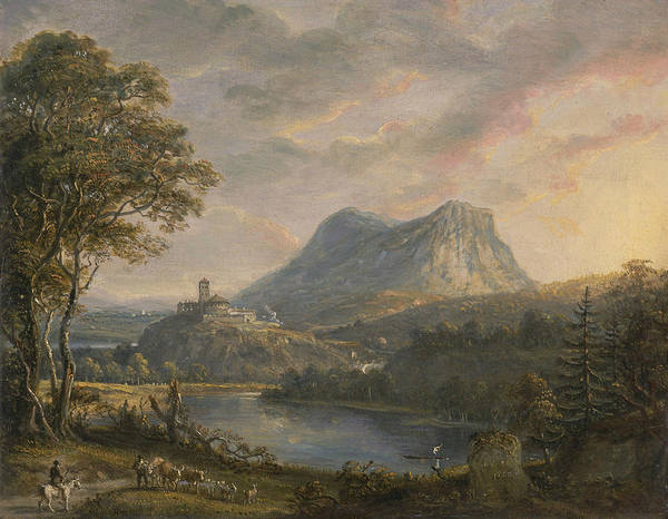 Painting - Landscape With A Lake by Paul Sandby