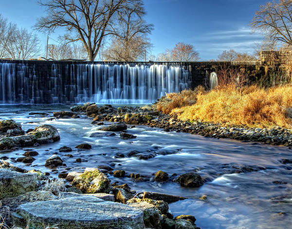 Wall Art - Photograph - Lanesboro Dam by Al  Mueller